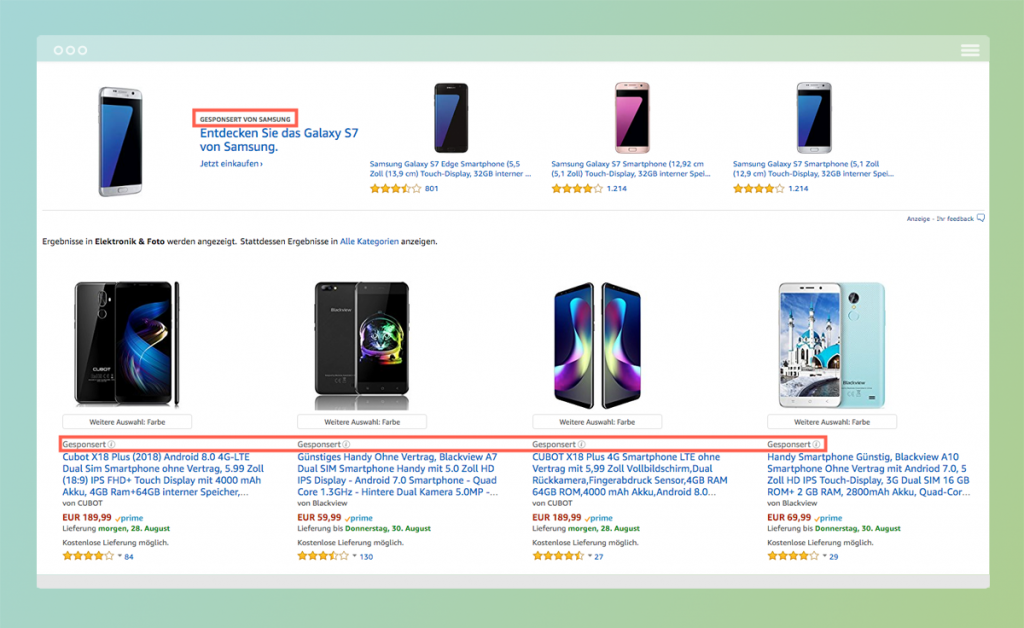 Amazon Advertising Ad Placements